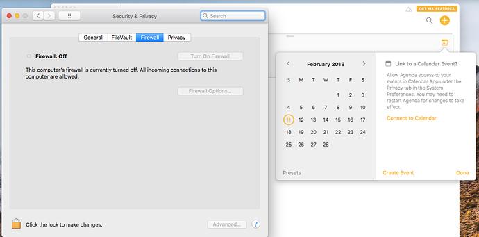 Calendar sync issue