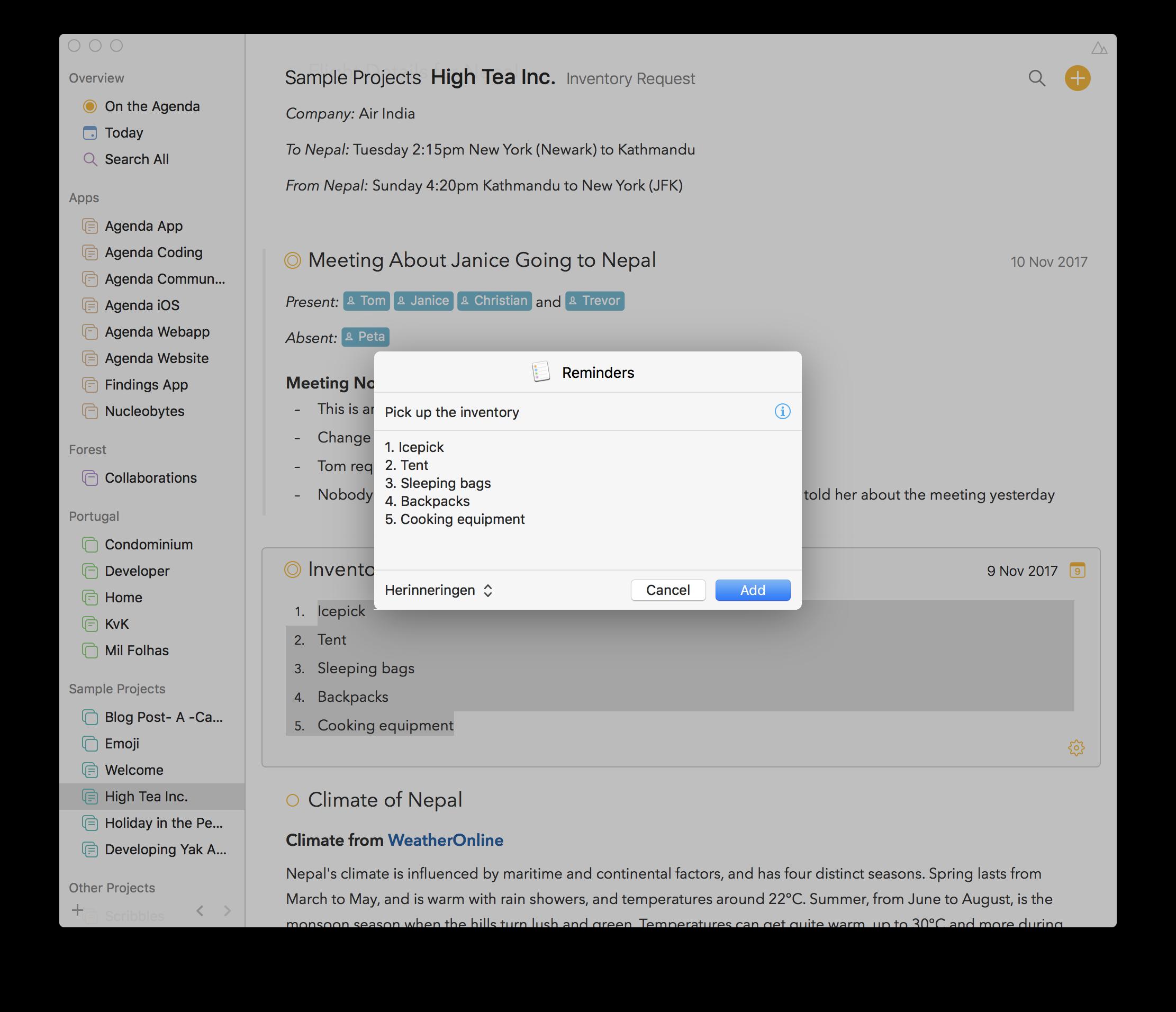 How I Use Agenda with Apple Reminders - Talk - Agenda Community