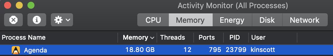 Memory%20usage%20Agenda